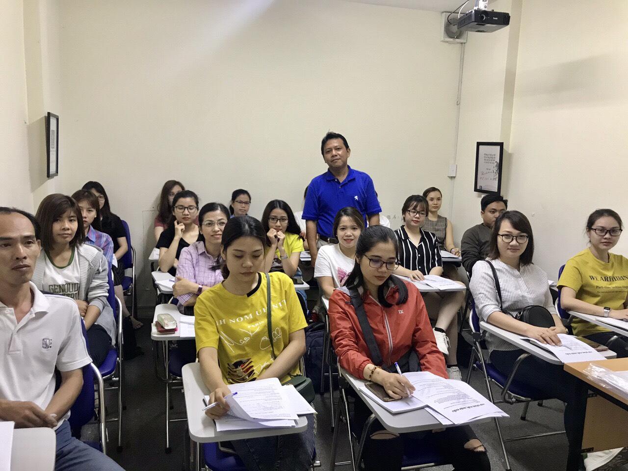 Phòng học Tại VinaTrain Chi nhánh Hồ Chí Minh
