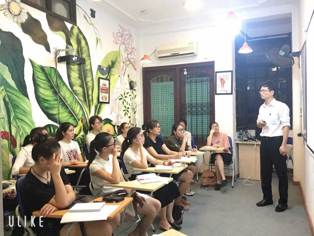 Phòng Học Tại VinaTrain ở Hà Nội