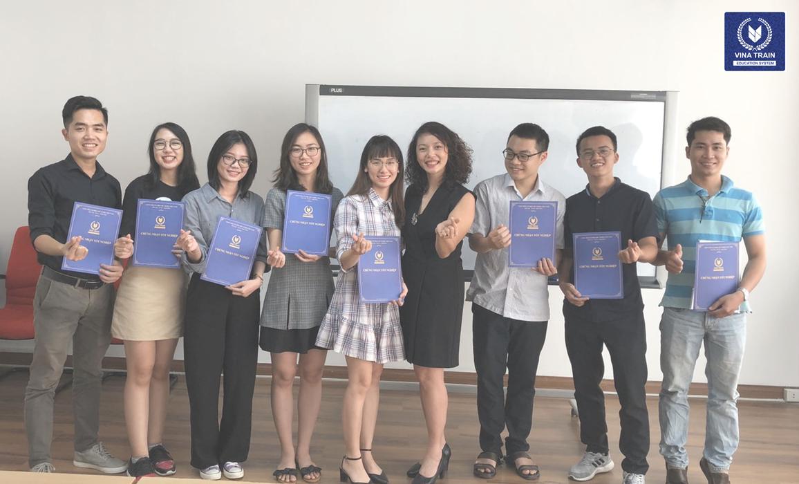 VinaTrain đào tạo xuất nhập khẩu tại Công Ty TNHH Hóa Chất Biển Việt, Hồ Chí Minh