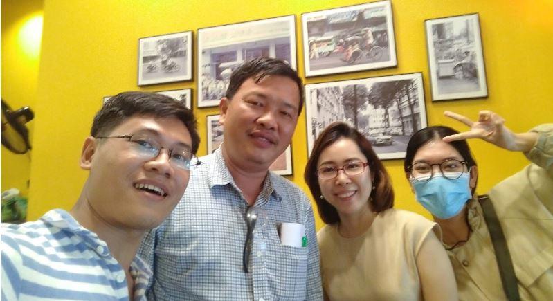 Học viên lớp xuất nhập khẩu giờ hành chính tại công ty chi nhánh Hồ Chí Minh