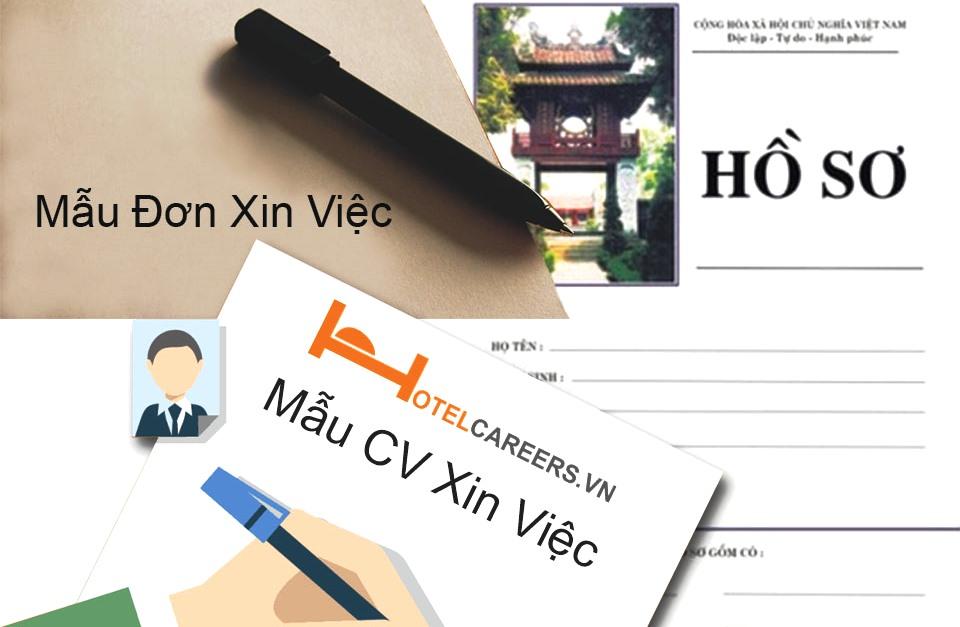 viết đơn xin việc cho người mới bắt đầu