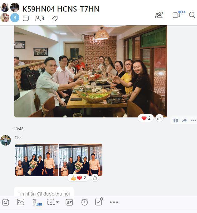 Hình ảnh giao lưu với học viên các khóa hành chính nhân sự tại VinaTrain