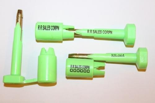 Mẫu chì đươc sử dụng để niêm phòng hàng đóng trong container