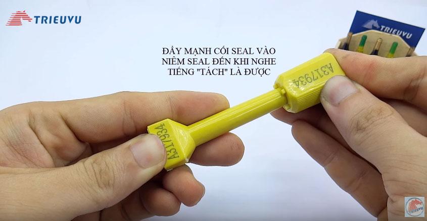 cách sử dụng seal cối 7mm