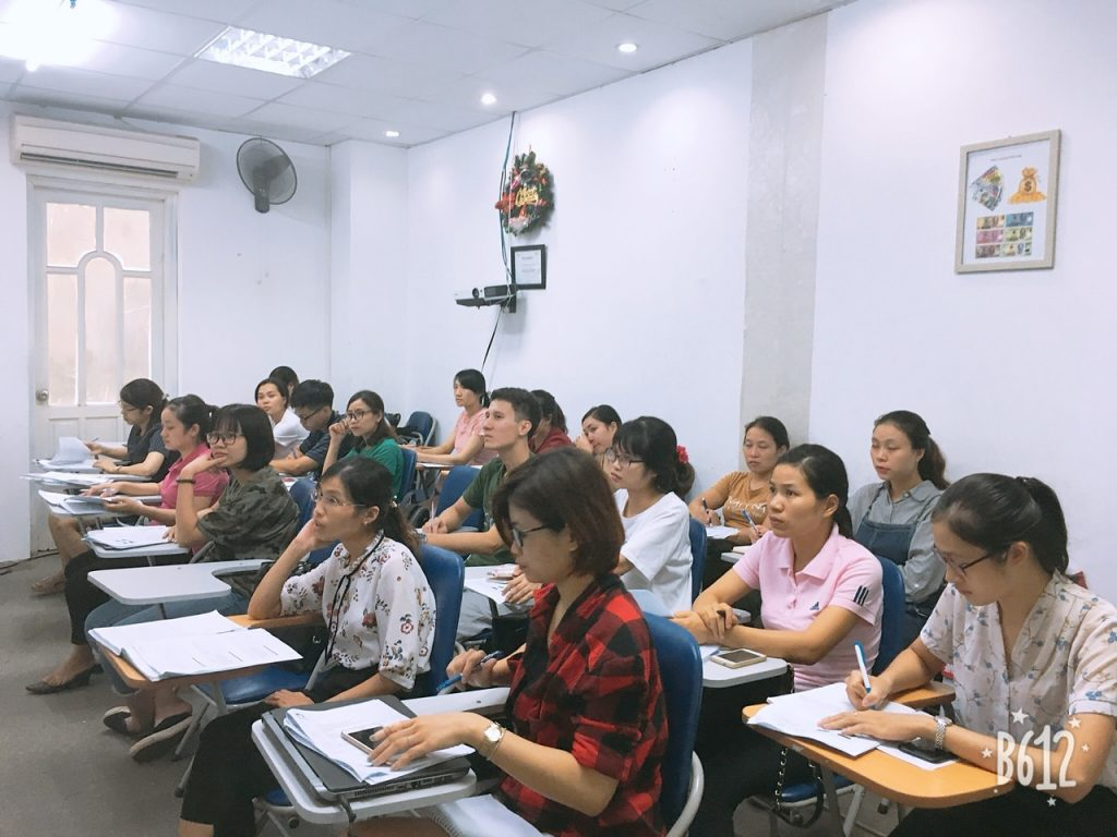 Hình ảnh đào tạo tại VinaTrain