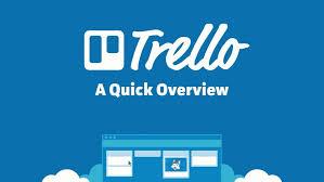 Giao diện phần mềm quản lý công viêc trello