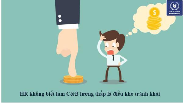 Rất nhiều nhân sự chấp nhận lương thấp vì không biết nghiệp vụ C&B