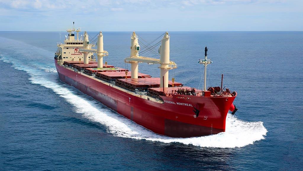 Tàu rời có vận tốc lớn chở cố định hàng hóa theo thỏa thuận từ trước