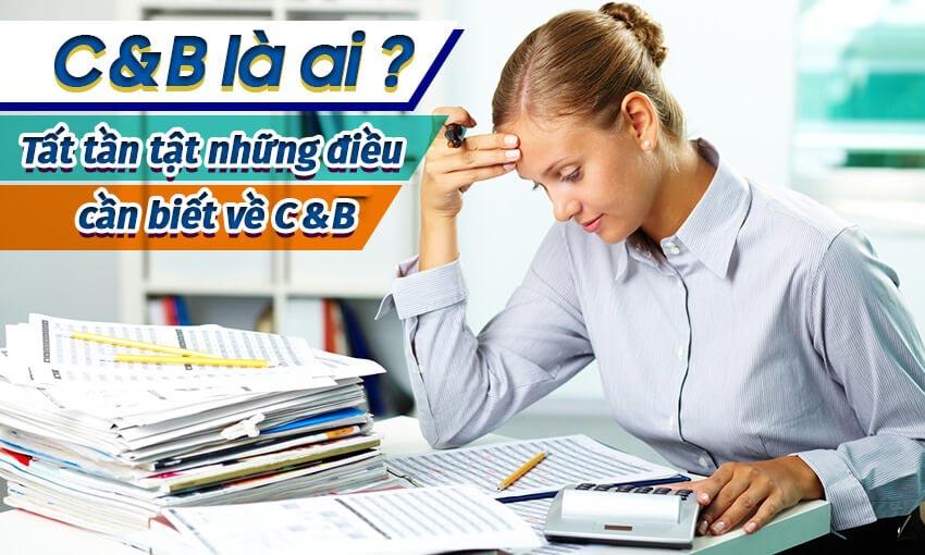 Nhân viên C&B là bộ phận khong thể thiếu trong tổ chức