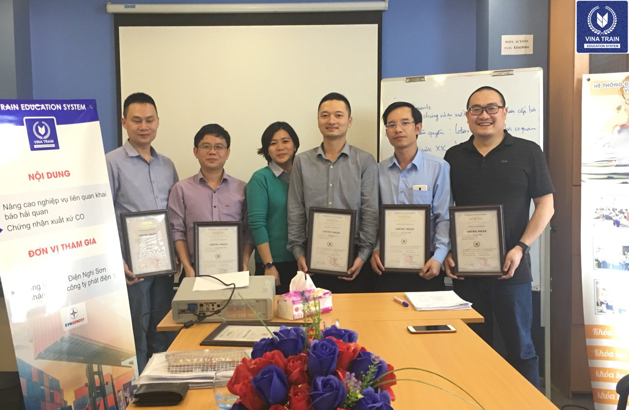VinaTrain đào tạo trưởng phòng nhân sự tại doanh nghiệp