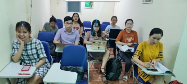 Hình ảnh đào tạo khóa học C&B tại VinaTrain chi nhánh Hồ Chí Minh