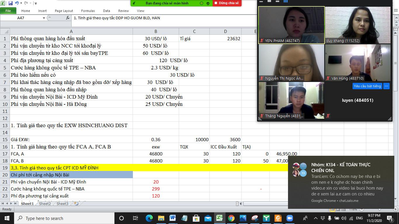 Khóa đào tạo online về Lgositcs tại VinaTrain