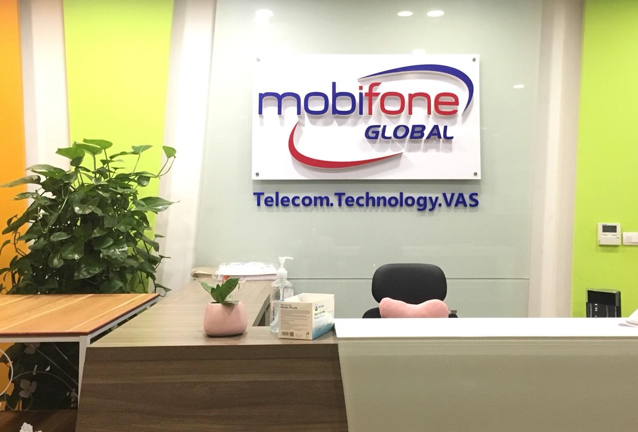 Công ty Mobifone global có trụ sở tại Tầng 8 105 Láng Ha, Đống Đa, Hà Nội
