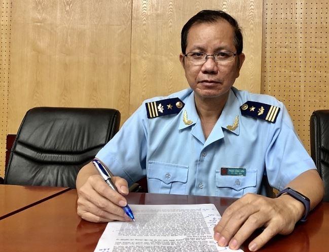 ông Phan Công Sơn (ảnh), Phó Hiệu trưởng Trường Hải quan Việt Nam (Tổng cục Hải quan)