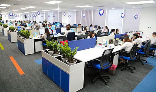 Văn phòng làm việc của nhân viên hành chính văn phòng