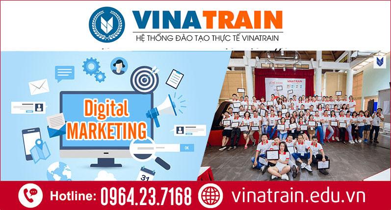Khóa học Digital Marketing Online tại VinaTrain