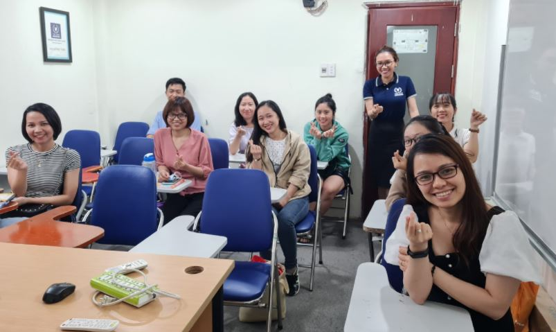 Lớp học chuyên viên tuyển dụng tại VinaTrain chi nhánh Hồ Chí Minh