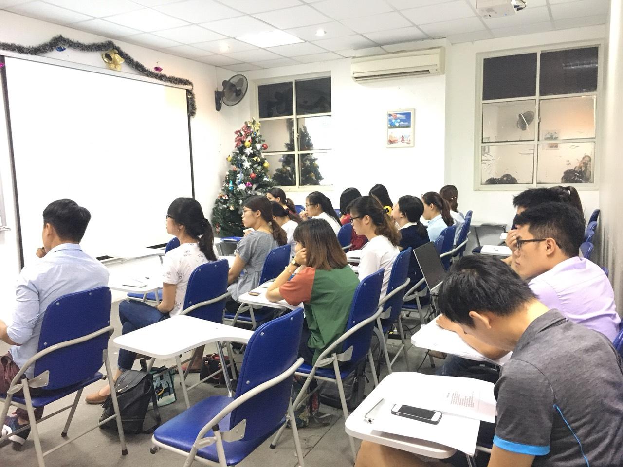 Hình ảnh đào tạo kế toán thuế tại VinaTrain chi nhánh Hà Nội