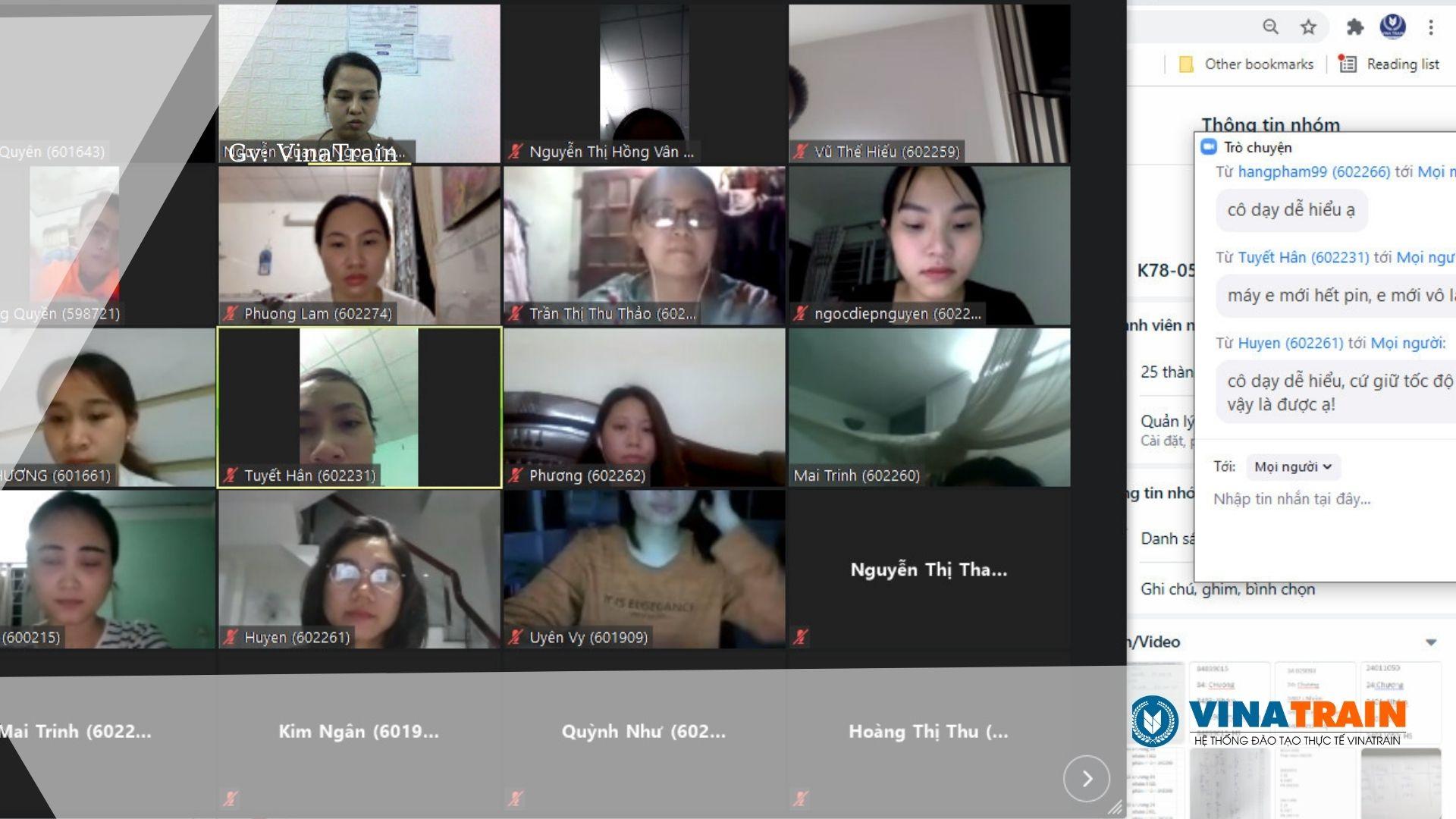 Hình ảnh khóa học logistics online tại VinaTrain