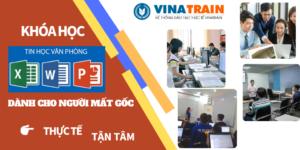 Khóa học tin học văn phòng tại VinaTrain